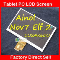 Wholesale 7 quot TFT LCD Screen Display Replacement for inch Ainol Novo7 Elf II Android Tablet PC pins x600