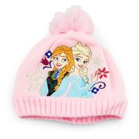 Wholesale Retail New Frozen Finger Puppet Baby scarf and hat frozen scarf frozen hat baby hat