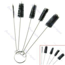 Wholesale sets Tattoo Cleaning Brush Kit Tip For Tube Machine Grip Airbrush Spray Gun