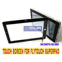 Wholesale 10 quot Ibex Facepad Superpad Flytouch ePad Vimicro Vc882 Tablet Original Replacement Touch Screen Panel film Free Ship