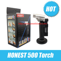 Wholesale HONEST JET Torch gas torch NEW Chef Brulee Blowtorch Jet Flame Torch Cooking Soldering Welding Brazing torch lighter