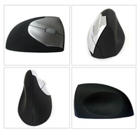 Wholesale NEW Original L wireless vertical mouse cordless mouse G laser upright mices health mouse