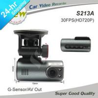 Wholesale newest Mini size HD Car Camera work with car DVD monitor Night Vision G sensor Recorder Russia Car DVR