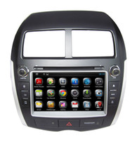 Wholesale HD din quot Android Car Audio Car DVD GPS for Mitsubishi ASX PEUGEOT CITROEN C4 With G WIFI Bluetooth IPOD TV Radio RDS AUX IN
