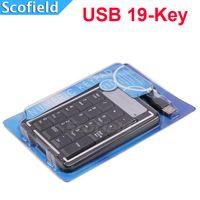 Wholesale USB Key Numeric Keypad Numpad Number keyboard for Laptop Black