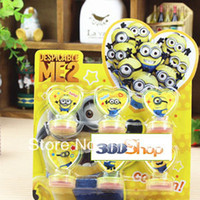 stamps - Despicable Me Minions stamp set Children funny DIY toy Decoration Stamp