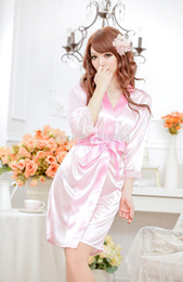 Wholesale Hot Sexy Lingerie Custumes Women Long Black Nightgown Pajamas Sexy See Through Dress With G String ONE SIZE