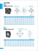 Wholesale ball screw holder Linear guide ball screw screw support mounts FK12 FK10 FK30 spot models bearing pillow block