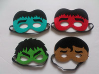 batman costome - By DHL Kids Children Halloween Superman Batman Mask Cosplay Eye Party Masquerade Masks Costome Face Mask for Cape