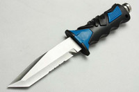 dive knife - 2014 New High quality diving knife camping knife survival knives tools