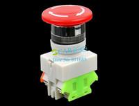 Wholesale New Emergency Stop Switch Push Button Mushroom PushButton Drop Shipping TK0325