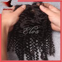 Cheap curly silk base closures Best Silk Base Closure