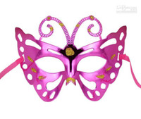 Wholesale Halloween Children Bee Party Masks Painting Princess Masquerade Mask