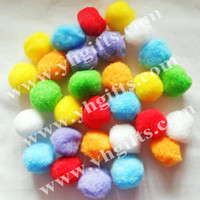 Wholesale mm Pompoms Multicolor pompom DIY accessories Craft material Handmade toys Doll accessories