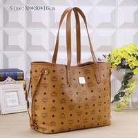 free shipping designer handbags - ladies women handbags MCM Fashion Shoulder Bags designer brand tote bags Hot selling Classical style MCM40157