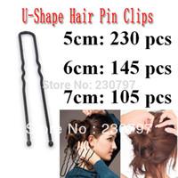 Wholesale cm U shaped Hair Pin Holder Clip Hair Grips Black