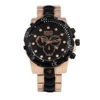 Wholesale watches men New men full steel invicta Rose Gold WATCH SPORTS brand watches water resistant curren wristwatches Dieseler