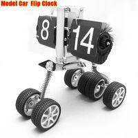 Cheap New Arrival Space Wagon Flip Clock & Model Car Clock For Home Decor Desk Clock Free Shipping