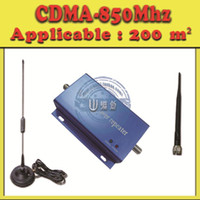 Wholesale mini CDMA MHZ repeater boosters Mobile phone signal Amplifier Small scale Coverage Sqm