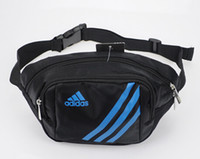 Wholesale Waist Bag Fashion messenger bag waist pack multi layer casual sports bag chest pack waist bag for men women
