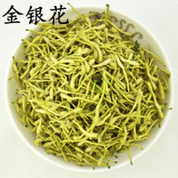 achat en gros de fleurs de chèvrefeuille-Grosses soldes!!! Livraison gratuite 1kg 2014 New China Superfine Organic 100% Natural Honeysuckle Flower Tea Vente en gros de thé organique à base de plantes