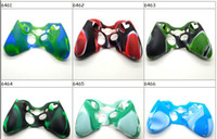 Wholesale 1 price Camouflage Silicone Case Cover Skin for XBOX Controller