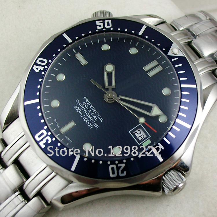 Luxury Blue Watch Mens