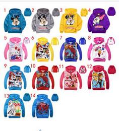 Wholesale freeshipping new Children outerwear Cartoon sweatshirt Autumn cotton coat kids jacket Children outerwear