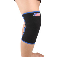 Wholesale Hot Adult Comfort Breathable Knee Support Ultralight Sponge Wrap Brace Strap Protector Blue black TY38 TY39