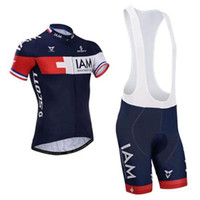 Wholesale Scott Cycling Jerseys Limited Edition Short Sleeves Bike Suit Stylish IAM Cycling Clothing Cycling Top Padded Shorts