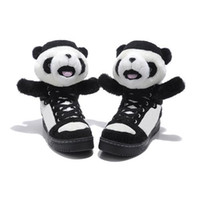 Wholesale Mens Womens Casual Shoes Fashion Black White Shoes Brand Shoes with Panda Top Sports Shoes Lovely Outdoor Shoes Lace up Athletic Shoes