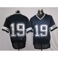 Cheap #19 Miles Austin American Football Jerseys Elite Navy Blue Sewn on Brand Top Selling Football Player Jersey Cheap Athletic Outdoor Apparel