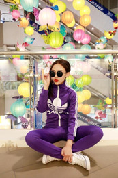 Wholesale Female fashion long sleeved movement during the spring and autumn in suits
