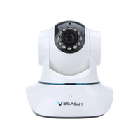 Wholesale Vstarcam T6835WIP PnP P2P IP Network Camera Wi Fi Pan Tilt IR Cut Two Way Audio Micro SD Card Slot Plug Play CCTV Security
