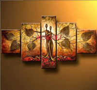 Wholesale From Artist Art Handmade Abstract Oil Painting On Canvas Modern Original Piece Picture Leaf No Frame Home Decoration
