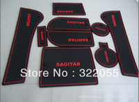 Wholesale Volkswagen new Sagitar gate slot pad feel MATS carpets cup set as that case cover auto products and parts