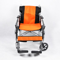wheelchair cushion - HOT New Aluminum Alloy Air Cushion Lightweight Folding Wheelchair Mobility Disabled Old People YL151