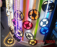 Wholesale 2014 new M Flexible Led Strip Light M Leds V Waterproof SMD Warm Pure Cool White Red Green Blue RGB Non Waterproof Hot