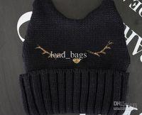 Wholesale Beanie from China Unisex Knitting Cap B BOY B GIRL Cat Style Warm Caps B14