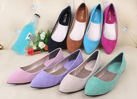 Cheap 2014 new free shpping fashion Single flat shoes shallow mouth Women's shoes