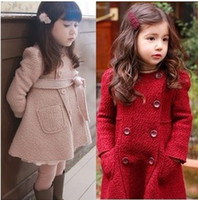 Cheap girls coat Best woolen coat