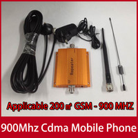 Wholesale Hot Mhz CDMA Mobile Phone Signal Stronger Repeater Booster Cell Phone Amplifier Orange