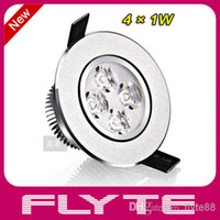 Wholesale 4W New Style V Round LED Recessed Downlight Celling Light LED Spotlight Degrees Rotary Four Colors