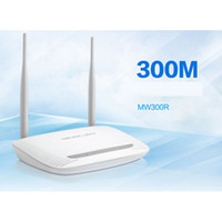 Wholesale MW300R wireless router M dual antenna unlimited WIFI router