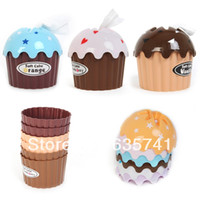 Wholesale 10pcs Cute Lovely Cupcake Cake Tissue Box Towel Holder Paper Container Dispenser Cover