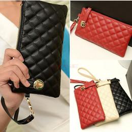 Wholesale 2014 Vintage Lady Soft Clutches Purse Leather Carteira Feminina Mini Zipper Long Wallet SV002310