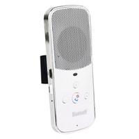 Wholesale Sun Visor Bluetooth V3 EDR Hands free Multipoint Speakerphone Car Kit White Brand New D5240B