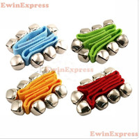 Wholesale 10x Children s Kids Baby Percussion Plus Wrist Bells Belt Toys Band