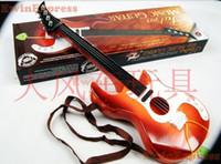 Wholesale 2x Orange Acoustic Guitar for Children Kids Musical Instrument Toy for Boys Girls Gift