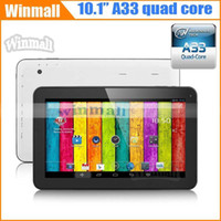 android points - 10 inch A33 Quad Core Allwinner Tablet PC GB GB Google Android kitkat Bluetooth OTG quot point touch screen